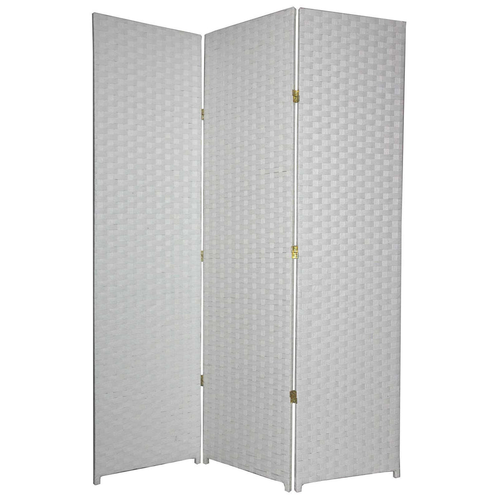 entwine white colour room divider screen 3 panel room dividers uk