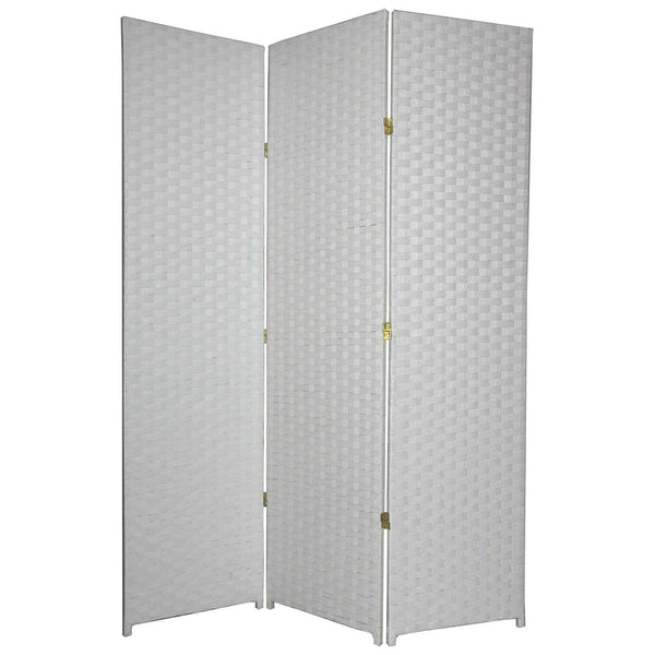 Entwine White Colour Room Divider Screen - 3 Panel