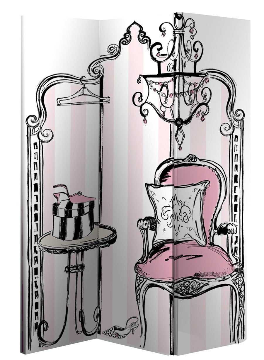 Boudoir Room Divider Screen