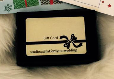 Studio 44 - Silver package gift card