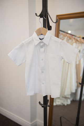 Duck & Dodge short sleeve white shirt