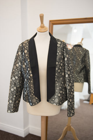 Clements Ribeiro gold and black blazer