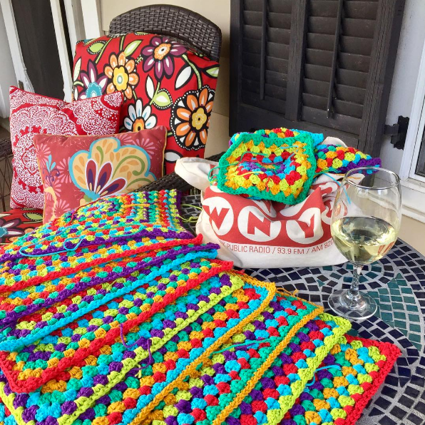 Artsyville Colorful Crochet