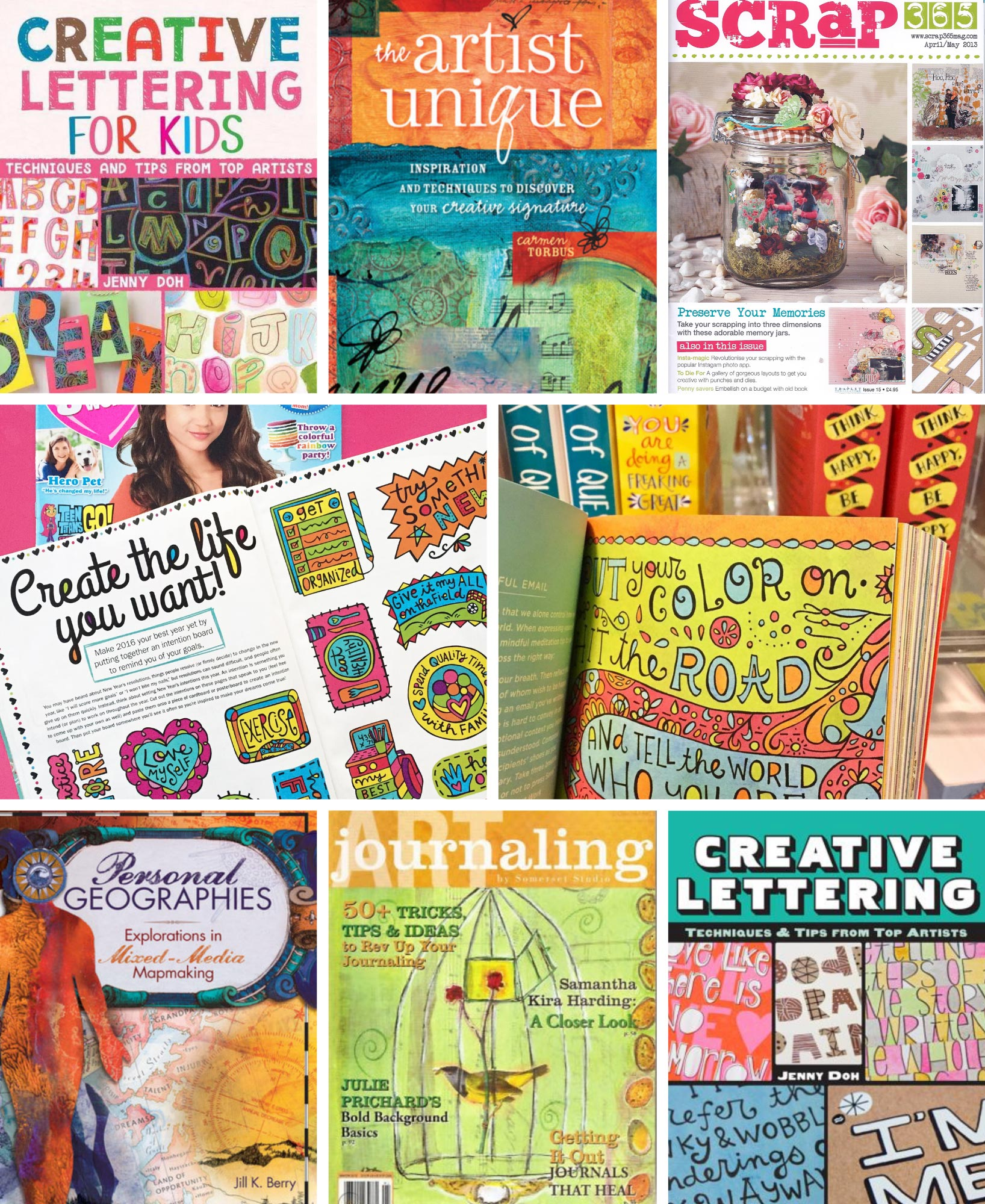 Artsyville - Books & Magazine contributions