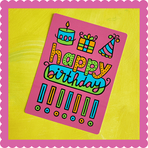 Happy Birthday!!! Postcard