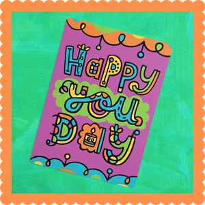 Happy You Day Postcard