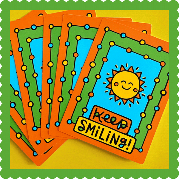 Keep Smiling Postcard