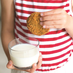 alternative wholefood anzac biscuits Liz Richards Super Snacks