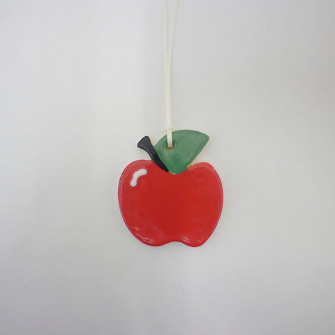 Large Ceramic Apple