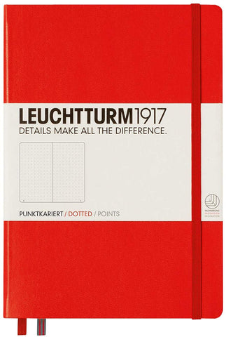 LEUCHTTURM 1917 DOTTED Notebook Medium A5 - RED