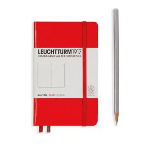 Leuchtturm1917 Notebook Plain A6 Red