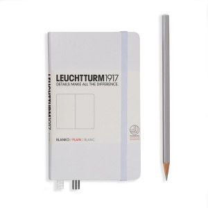 Leuchtturm1917 Notebook Plain A6 White