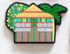 Art Fridge Magnet by Debra Hood