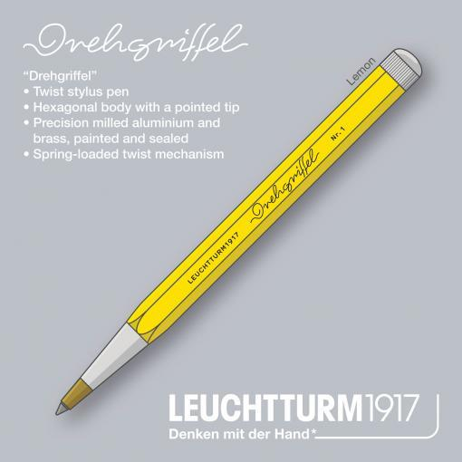 Drehgriffel Twist Pen Medium Ballpoint, Lemon