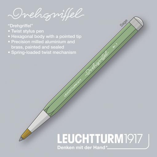 Drehgriffel Twist Pen Medium Ballpoint Sage