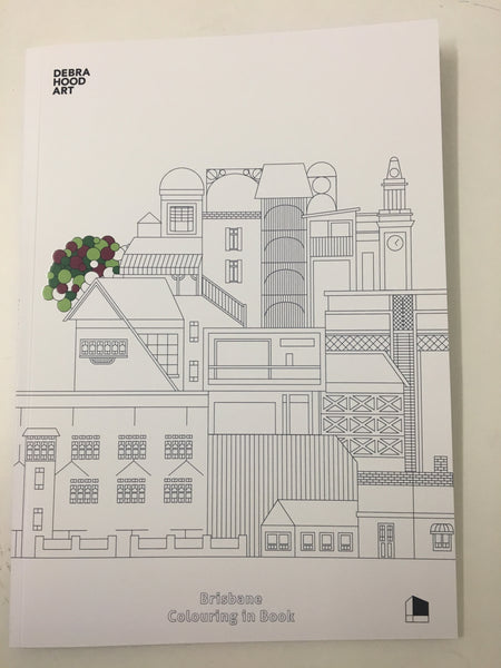 Debra Hood Brisbane Colouring in Book