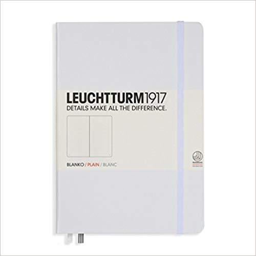 Leuchtturm1917 Notebook A5 Plain - White