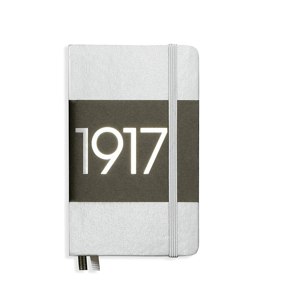 Leuchtturm1917 Notebok A6 Ruled Ltd - Silver