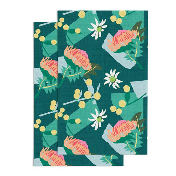 Christmas Fabric Gift Wrap - Green