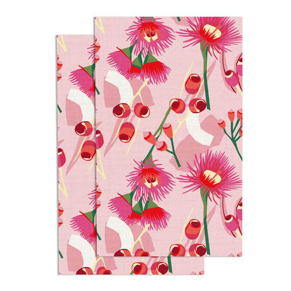 Christmas Fabric Gift Wrap - Red