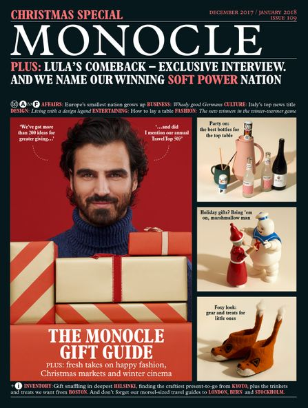 The Monocle Issue 109 December 2017/ January 2018 Christmas