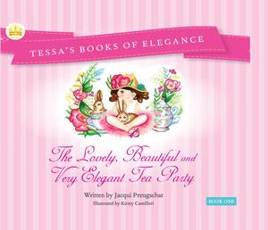 AE Sept 2019 - 'The Lovely, Beautiful and Very Elegant Tea Party' Bk 1