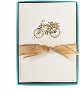 Flower Bicycle La Petite Presse Notecards
