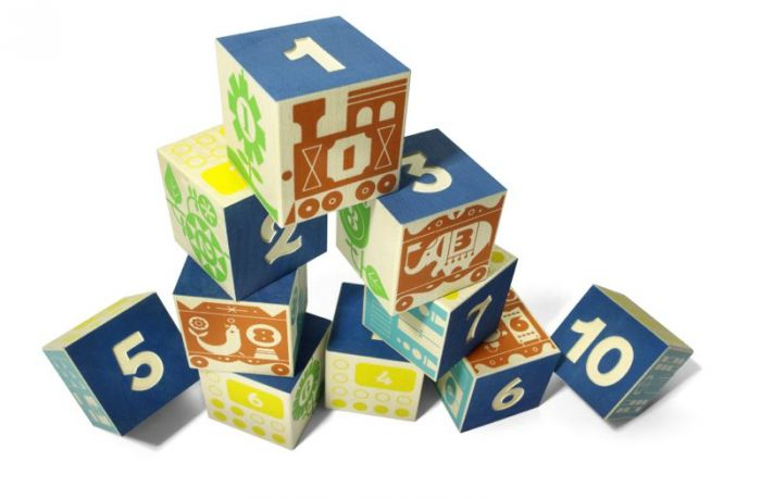 Count and Stack Number Blocks