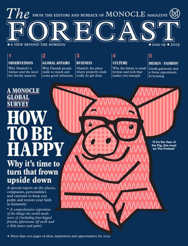 The Monocle - The Forecast 2019