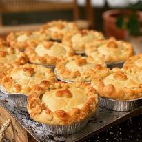 Pepper Steak Individual Pie