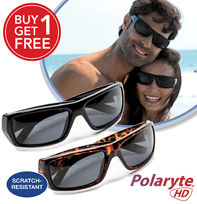 2458be190d3d Polaryte HD UV400 Sunglasses will revolutionize the way you see the world  around you!