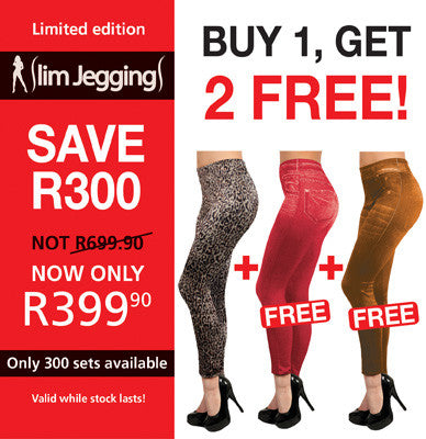 Slim Jeggings - The Limited Edition SAVE R300                Small / Medium (8-12) only