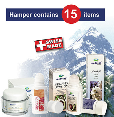 Deluxe Swiss Health & Beauty Hamper