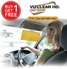 VIZCLEAR HD 2-in-1 Car Visor - Enjoy an unobstructed view, every time you drive - day and night!