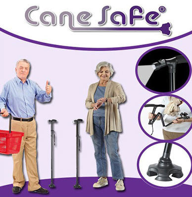 Cane Safe - makes walking easy, comfortable and safe
