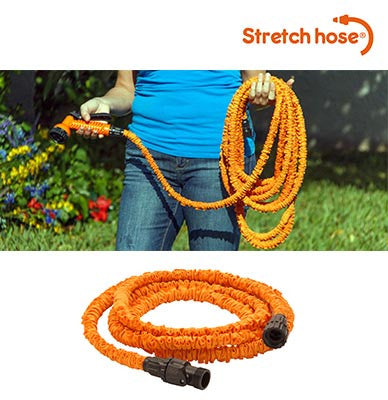 STRETCH Hose - the amazing, expanding hose that grows and grows...