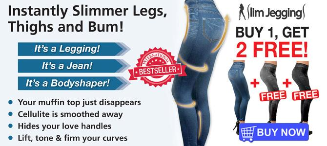 Slim Jeggings - Instantly Slimmer Legs, Thighs and Bum