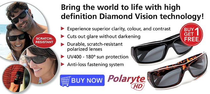 Polaryte HD UV400 Sunglasses - High-Definition Polarized Vision