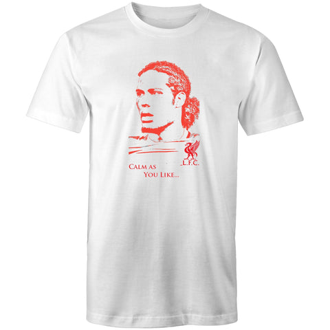 Liverpool Tshirt Virgil Van Dijk Calm as you like LFC
