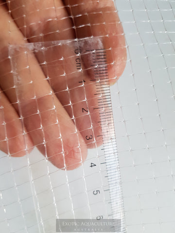 Transparent mesh 5mm x 5mm - price includes shipping