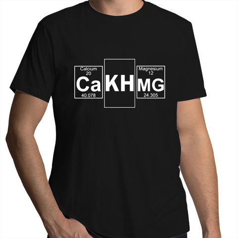 "CalcAlkMag ""the holy trinity""- Mens T-Shirt (free shipping)"
