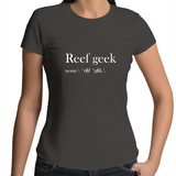 Reef Geek - Womens Crew T-Shirt (free shipping)