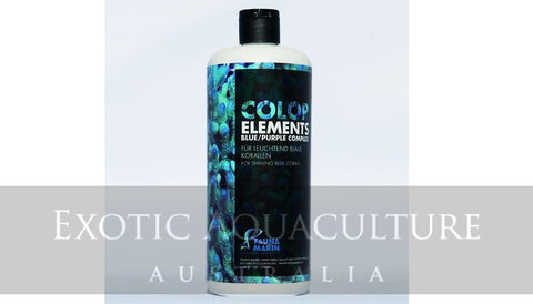 Color Elements Blue Purple Complex 250ml for shining blue corals