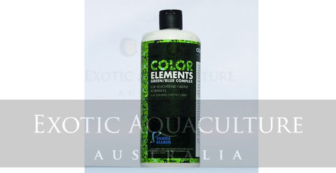 Color Elements Green Blue Complex 250ml for shining green corals