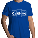 "CalcAlkMag ""the holy trinity""- Mens T-Shirt"