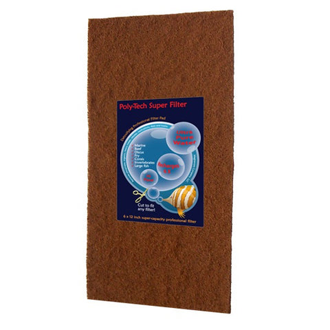 Poly-tech Super Filter Pad Pro 6 inch x 12 inch
