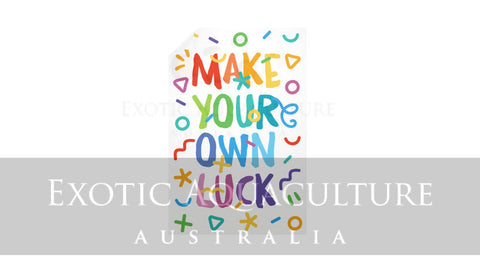 Vertical Wall Decals  Exotic Aquaculture Australia