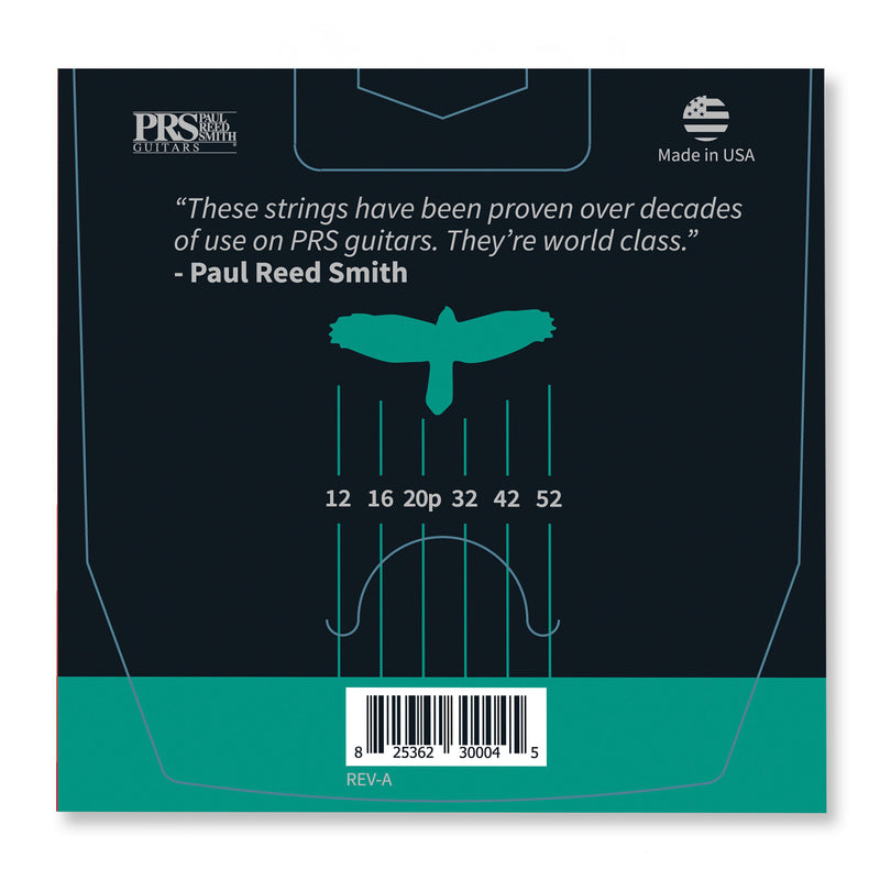 PRS Classic Heavy Guitar Strings 12-52