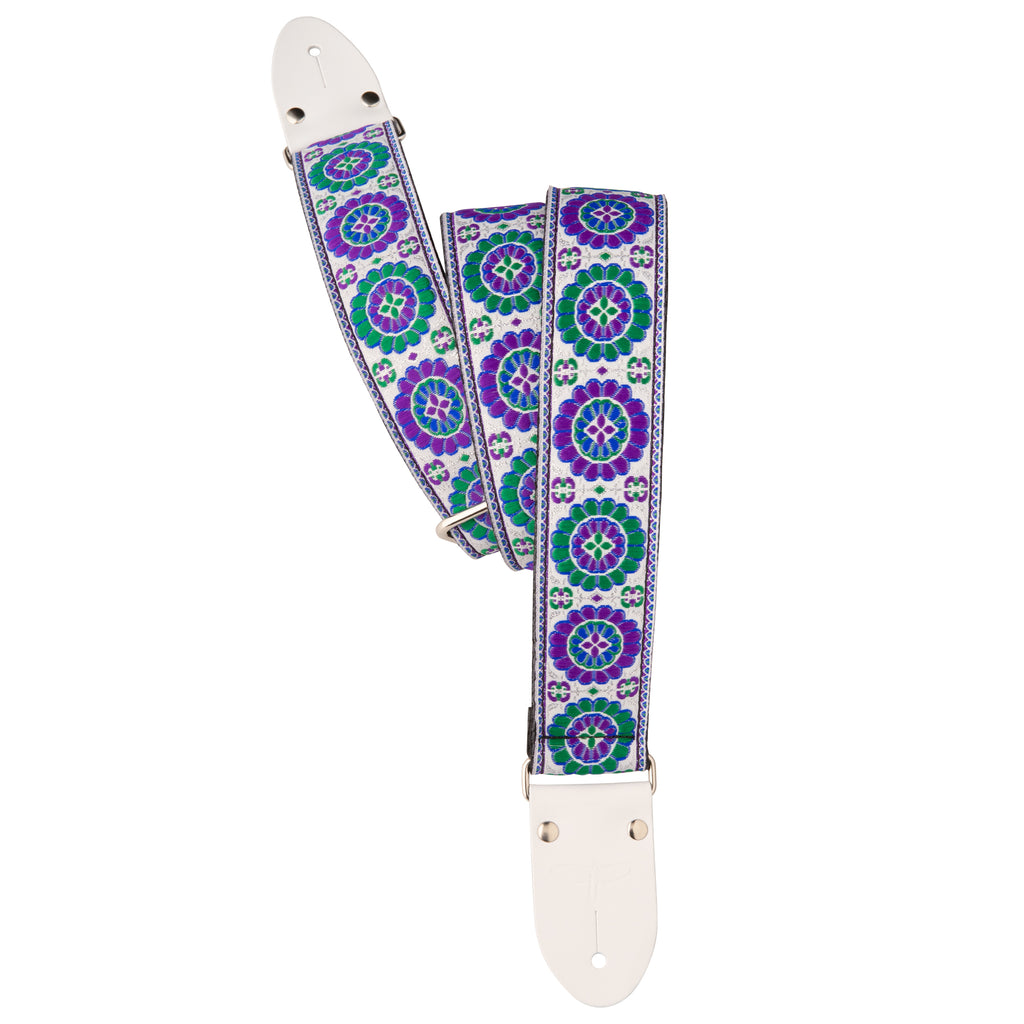 "Deluxe 2"" Retro Guitar Strap - Purple"