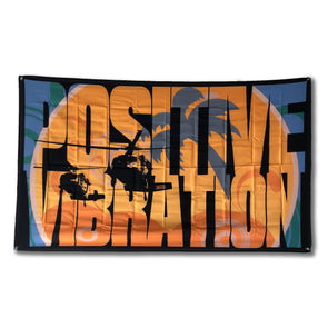 Thirty Seconds Out Blackhawk Positive Vibration Flag
